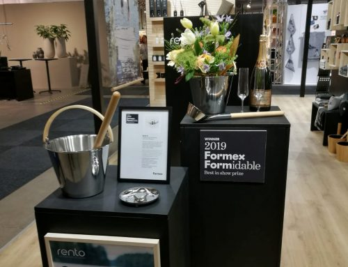 RENTO SAUNA BUCKET AND LADLE WERE VICTORIOUS IN THE DESIGN AWARD FORMEX FORMIDABLE