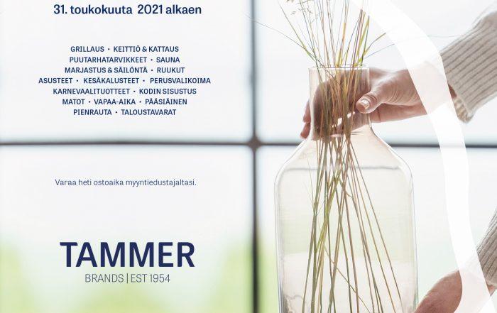 Kutsu Tammer Brandsin kevät/kesänäyttelyyn 2022.